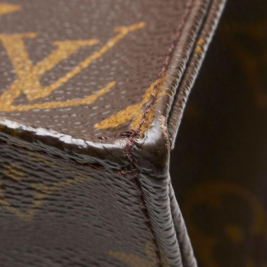 Louis Vuitton 9glvto011 Vintage Leather Tote in Brown Image 7