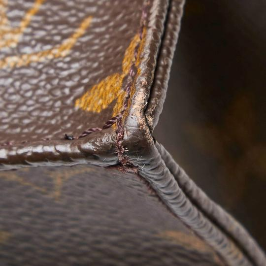 Louis Vuitton 9glvto011 Vintage Leather Tote in Brown Image 8