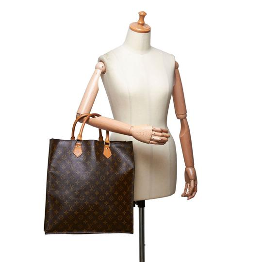 Louis Vuitton 9glvto011 Vintage Leather Tote in Brown Image 9
