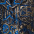 Etro Gold Embroidered Jacquard Womens Jean Jacket Image 3