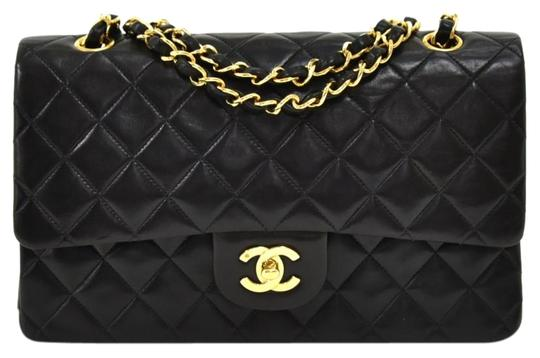 Preload https://img-static.tradesy.com/item/26162164/chanel-255-reissue-double-flap-vintage-classic-10-quilted-black-leather-shoulder-bag-0-1-540-540.jpg