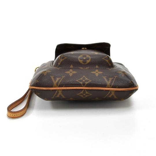 Louis Vuitton Wristlet in Brown Image 4