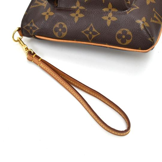 Louis Vuitton Wristlet in Brown Image 5