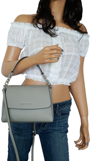 Preload https://img-static.tradesy.com/item/26162171/michael-kors-shoulder-sofia-small-ew-satchel-grey-cross-body-bag-0-1-540-540.jpg