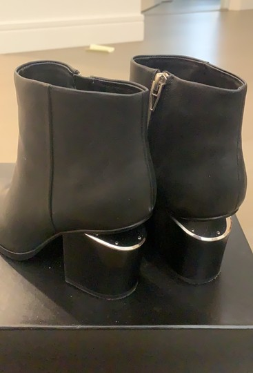 Alexander Wang Black with silver hardware Boots Image 5
