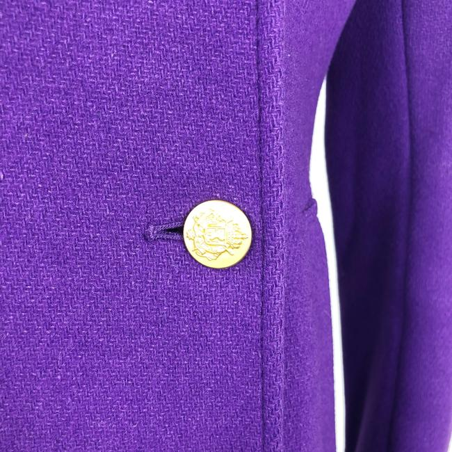 J.Crew Double Breasted Gold Buttons Preppy Pea Coat Image 7