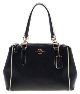 Coach Leather Mini Shoulder Bag