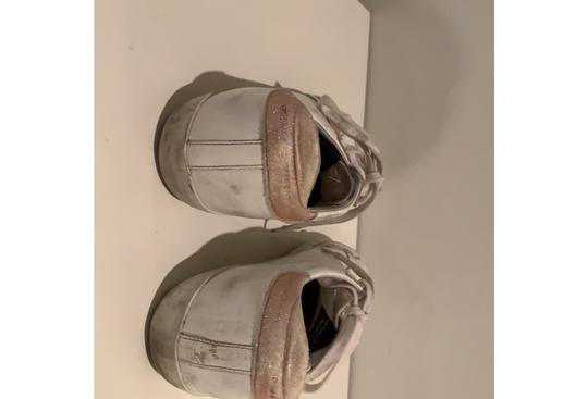 Golden Goose Deluxe Brand white and pink Athletic Image 2