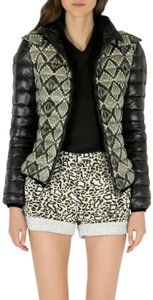 Etro Detail Polyamide Black Womens Jean Jacket
