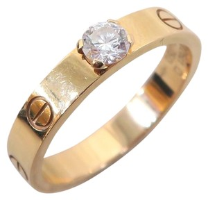 Cartier Cartier Rose Gold Engagement Size 56 Ring