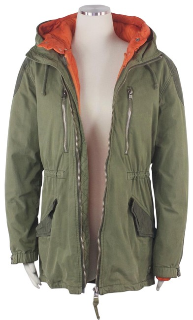 Item - Green Aritzia Roswell Utility Parka Puffer Twofer Military Hooded Coat M Activewear Size 10 (M)