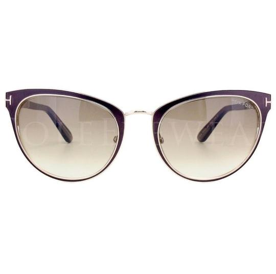 Preload https://img-static.tradesy.com/item/26164822/brown-gold-gradient-ft0373-48f-nina-sunglasses-0-0-540-540.jpg