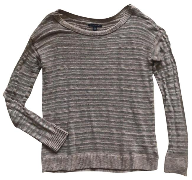 Preload https://img-static.tradesy.com/item/26164928/american-eagle-outfitters-light-brown-textured-lightweight-sweater-tunic-size-4-s-0-2-650-650.jpg