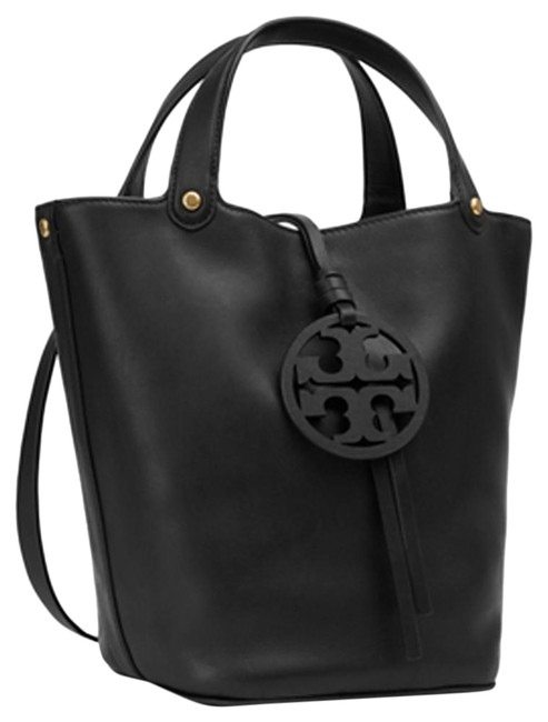 Item - Bucket Miller Black Leather Tote