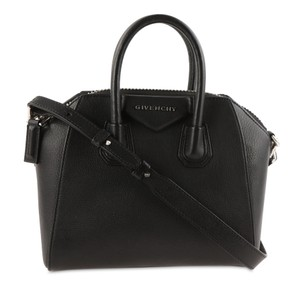 Givenchy Leather Silver Hardware Cross Body Bag