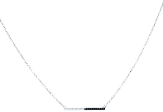 Preload https://img-static.tradesy.com/item/26165128/14k-white-gold-tiny-raw-of-black-and-cut-diamond-necklace-0-5-540-540.jpg