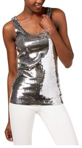 Michael Kors Collection Top silver