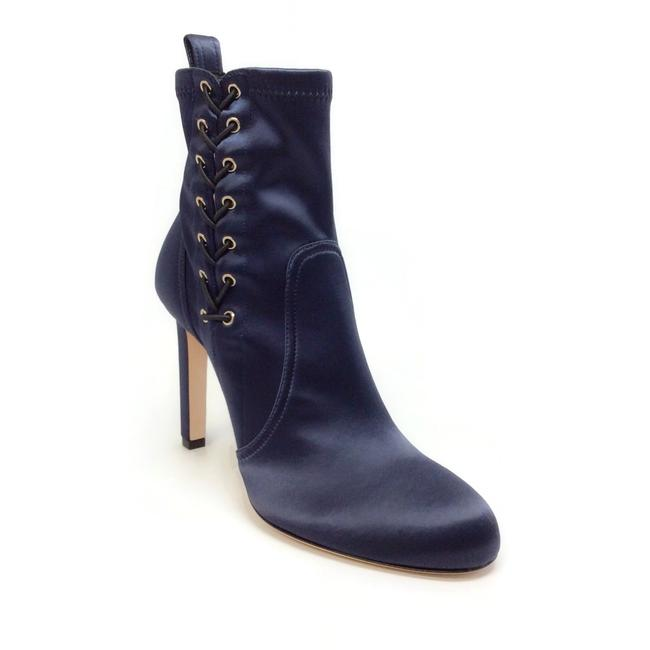 Jimmy Choo Navy Blue Mallory 100 Boots/Booties Size EU 40 (Approx. US 10) Regular (M, B) Jimmy Choo Navy Blue Mallory 100 Boots/Booties Size EU 40 (Approx. US 10) Regular (M, B) Image 1