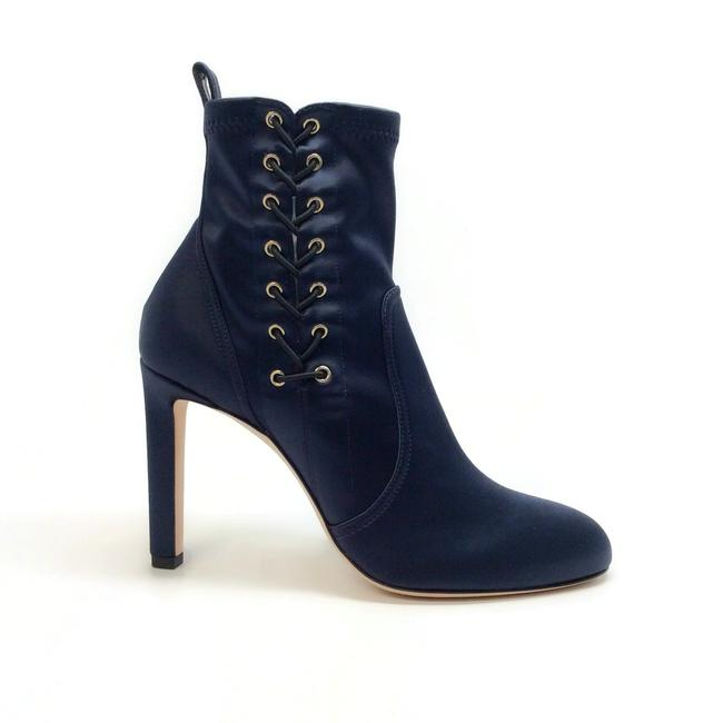 Jimmy Choo Navy Blue Mallory 100 Boots/Booties Size EU 40 (Approx. US 10) Regular (M, B) Jimmy Choo Navy Blue Mallory 100 Boots/Booties Size EU 40 (Approx. US 10) Regular (M, B) Image 2