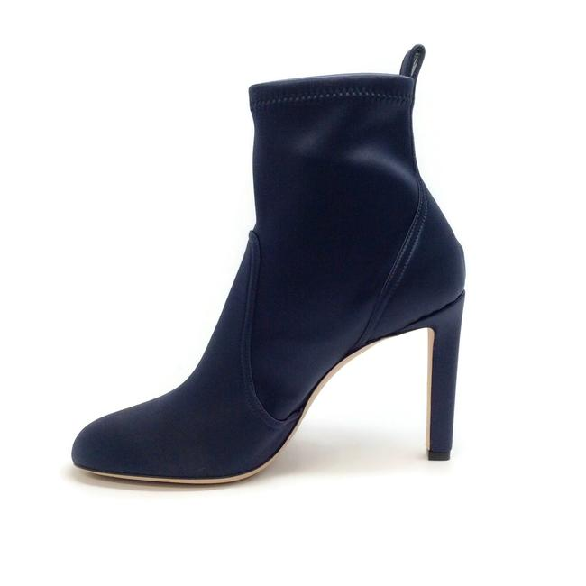 Jimmy Choo Navy Blue Mallory 100 Boots/Booties Size EU 40 (Approx. US 10) Regular (M, B) Jimmy Choo Navy Blue Mallory 100 Boots/Booties Size EU 40 (Approx. US 10) Regular (M, B) Image 3