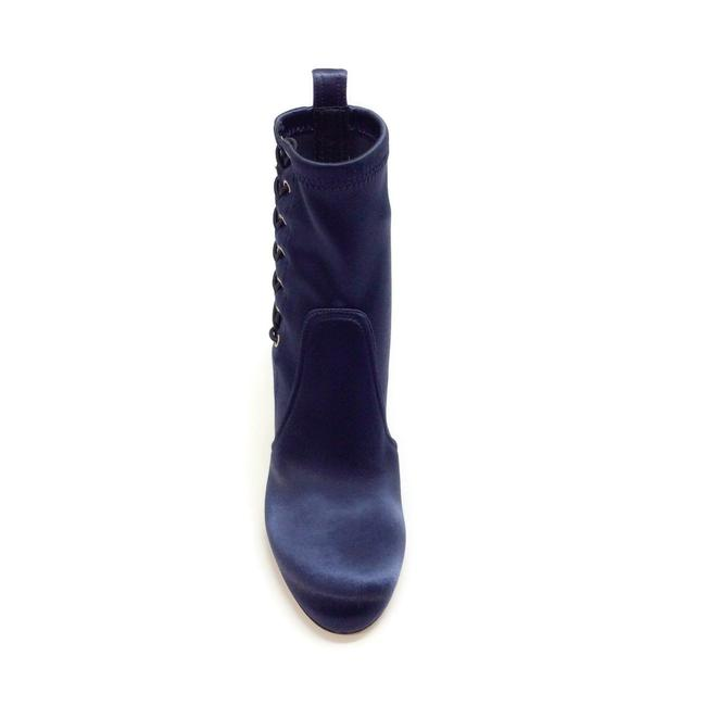 Jimmy Choo Navy Blue Mallory 100 Boots/Booties Size EU 40 (Approx. US 10) Regular (M, B) Jimmy Choo Navy Blue Mallory 100 Boots/Booties Size EU 40 (Approx. US 10) Regular (M, B) Image 4