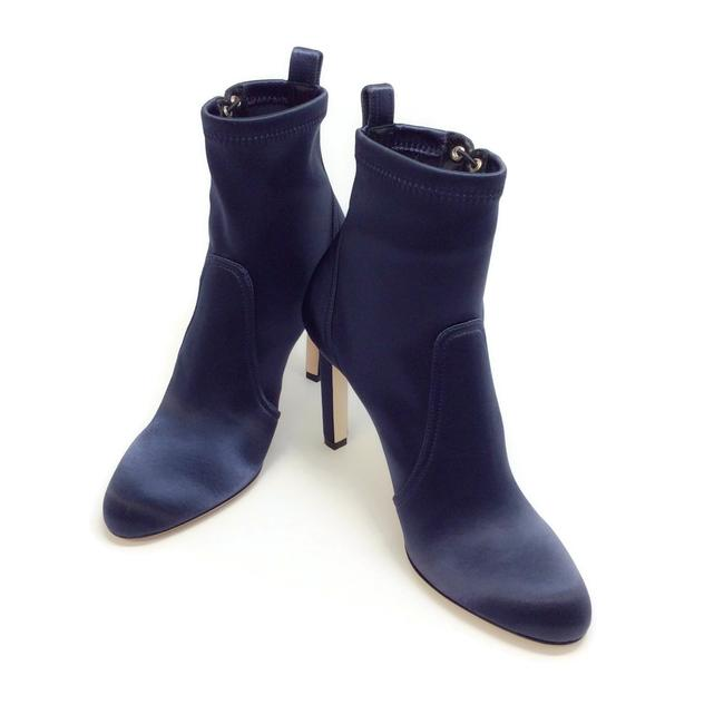 Jimmy Choo Navy Blue Mallory 100 Boots/Booties Size EU 40 (Approx. US 10) Regular (M, B) Jimmy Choo Navy Blue Mallory 100 Boots/Booties Size EU 40 (Approx. US 10) Regular (M, B) Image 6