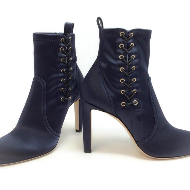 Jimmy Choo Navy Blue Mallory 100 Boots/Booties Size EU 40 (Approx. US 10) Regular (M, B) Jimmy Choo Navy Blue Mallory 100 Boots/Booties Size EU 40 (Approx. US 10) Regular (M, B) Image 7