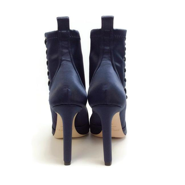 Jimmy Choo Navy Blue Mallory 100 Boots/Booties Size EU 40 (Approx. US 10) Regular (M, B) Jimmy Choo Navy Blue Mallory 100 Boots/Booties Size EU 40 (Approx. US 10) Regular (M, B) Image 8