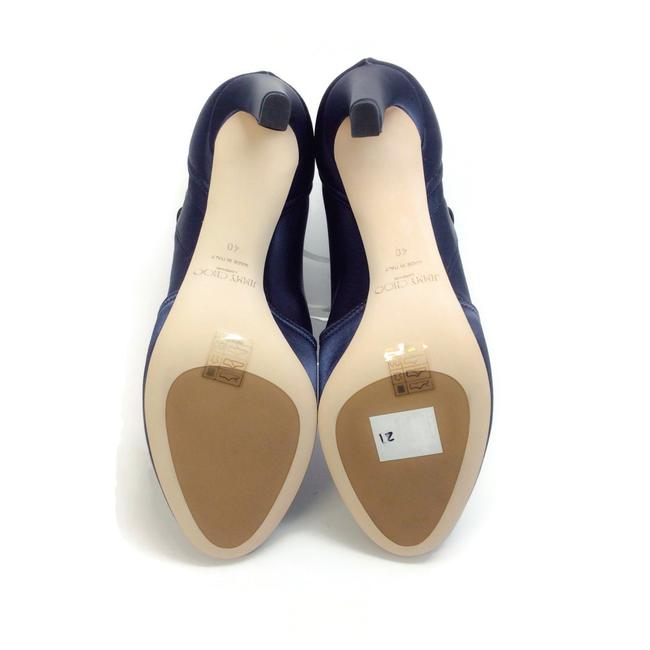 Jimmy Choo Navy Blue Mallory 100 Boots/Booties Size EU 40 (Approx. US 10) Regular (M, B) Jimmy Choo Navy Blue Mallory 100 Boots/Booties Size EU 40 (Approx. US 10) Regular (M, B) Image 10