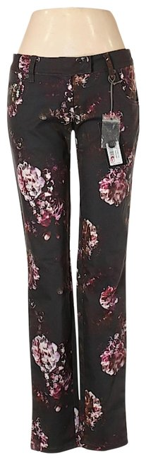 Preload https://img-static.tradesy.com/item/26165281/multicolor-dark-rinse-skinny-floral-print-pants-women-s-42it-10us-straight-leg-jeans-size-27-4-s-0-2-650-650.jpg