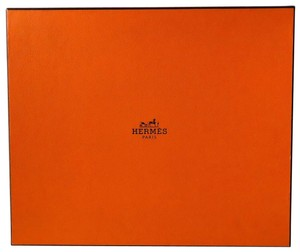 Hermès Large Logo Storage Box ~ Closet Chic ~ Perfect for Scarves & Belts