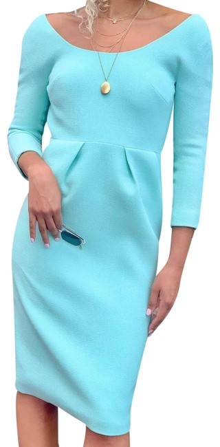Item - Mint 36(6) Wool Crepe Mid-length Cocktail Dress Size 6 (S)