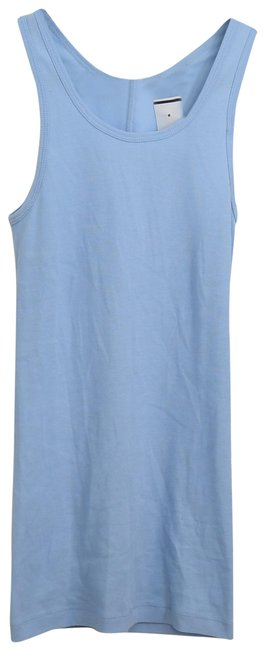 Helmut Lang Blue Stripped Tank Top/Cami Size 0 (XS) Helmut Lang Blue Stripped Tank Top/Cami Size 0 (XS) Image 1