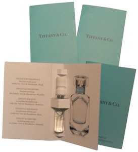 Tiffany & Co. NEW 4 EAU TENDRE TRAVEL-EDP-SPRAYS-0.04 Oz Each Fragrance