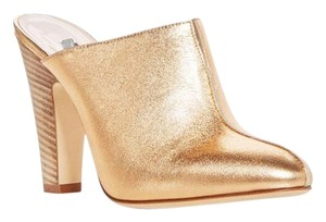 SJP by Sarah Jessica Parker rose gold Mules