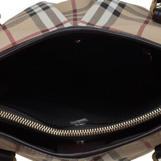 Burberry Purse Handbag Haymarket Tote in Black Image 7