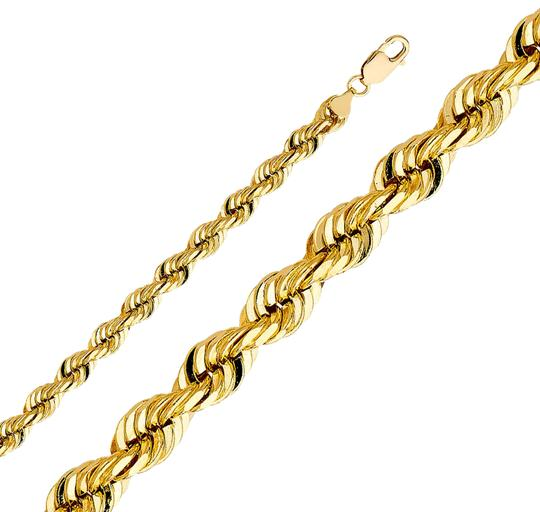 Preload https://img-static.tradesy.com/item/26166955/yellow-14k-8mm-solid-rope-cut-chain-26-necklace-0-2-540-540.jpg