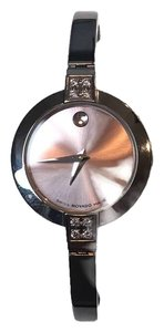 Movado Movado Museum Ladies Diamond Watch 84A1 1830 S