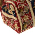 Tory Burch Embroidered Canvas Leather Multicolor Clutch Image 7