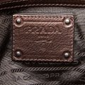 Prada 9eprto007 Vintage Leather Tote in Brown Image 6