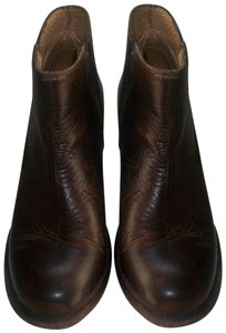 Bed|Stü Teak-Brown and Black Boots