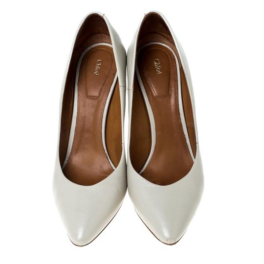 Chloé Leather Beige Pumps Image 2