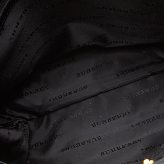 Burberry 9gbuto023 Vintage Patent Leather Tote in Brown Image 2