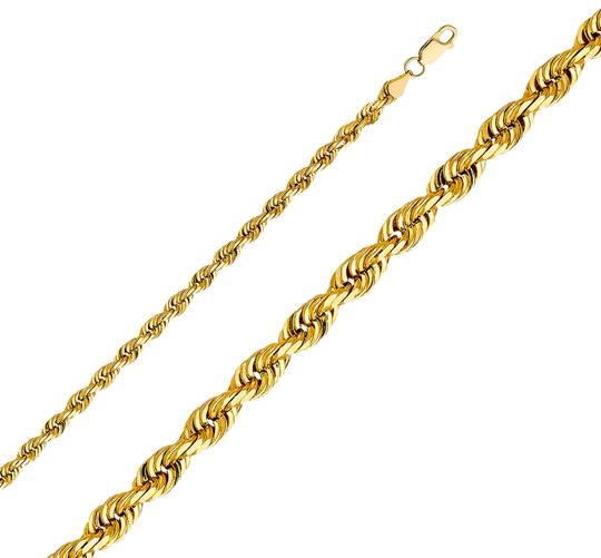 Preload https://img-static.tradesy.com/item/26167177/yellow-14k-5mm-solid-rope-cut-chain-22-necklace-0-1-540-540.jpg