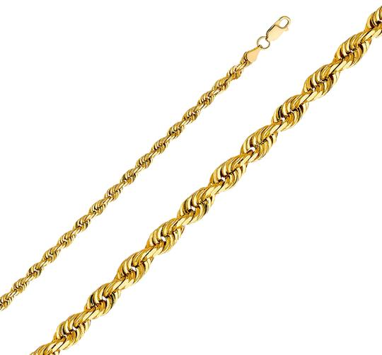 Preload https://img-static.tradesy.com/item/26167193/yellow-14k-5mm-solid-rope-cut-chain-26-necklace-0-1-540-540.jpg