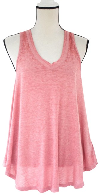 Preload https://img-static.tradesy.com/item/26167261/free-people-pink-v-neck-swing-m-tank-topcami-size-8-m-0-1-650-650.jpg