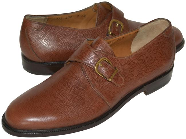 Item - Brown New Leather Loafers Eu 40 Mens Formal Shoes Size US 7 Regular (M, B)