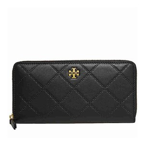 Tory Burch Black with Tag 39962 Georgia Continental Wallet
