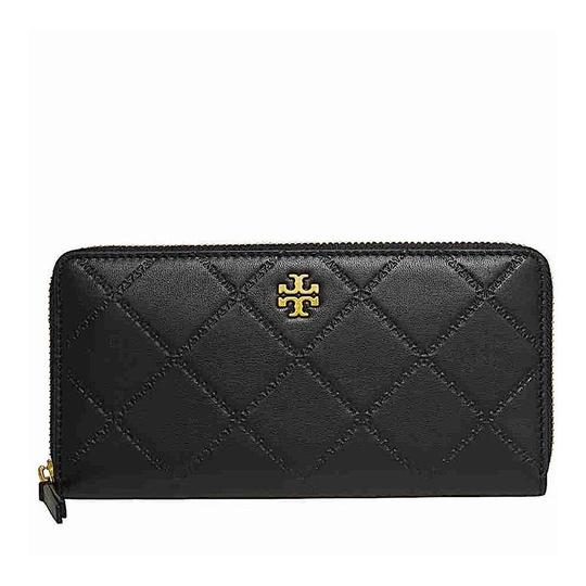 Tory Burch Black with Tag 39962 Georgia Continental Wallet Image 4
