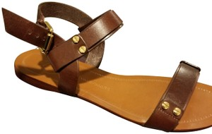 Vince Camuto Leather Brown Sandals